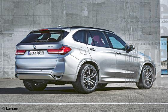Bmw X5 Und Audi Q6 2018 Autobild De