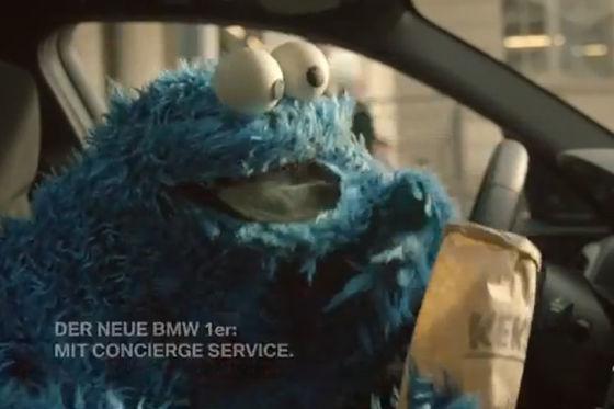 BMW 1er-Werbespot mit Krümelmonster