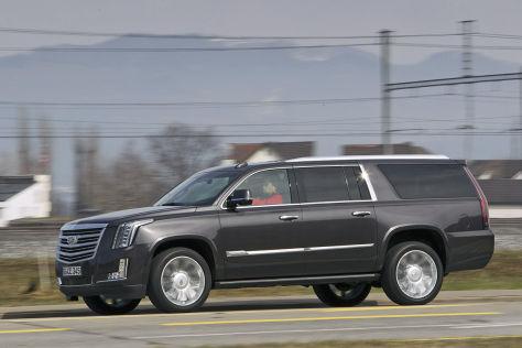"Cadillac Escalade ESV ""Platinum"": Fahrbericht"
