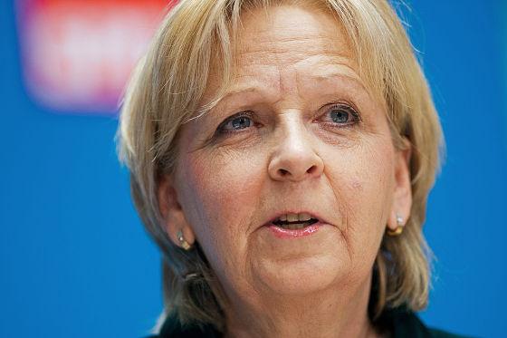 Hannelore Kraft, Ministerpräsidentin in Nordrhein-Westfalen