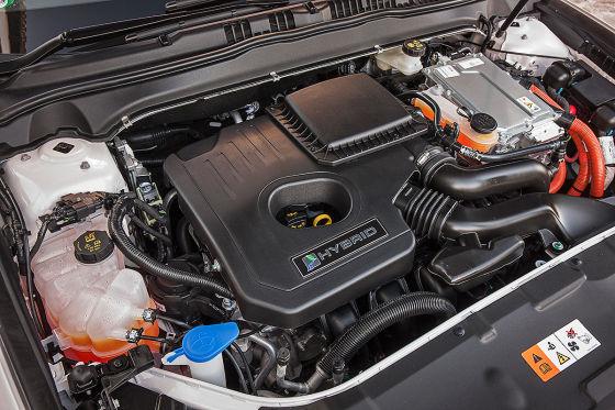 Ford Mondeo Motorraum