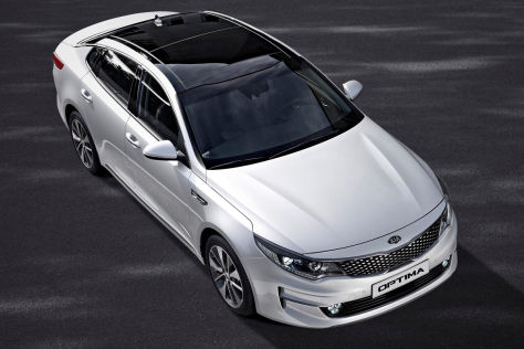 Kia Optima (New York 2015): Vorstellung