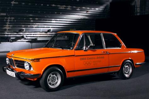 Olympia 1972: Elektro-BMW 1602e