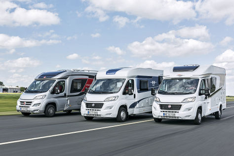 Bürstner Travel Van T590, Hobby Siesta V60 GF, Carado T132