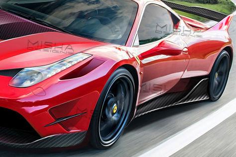 Ferrari 458 Misha Designs LaFerrari FXX K