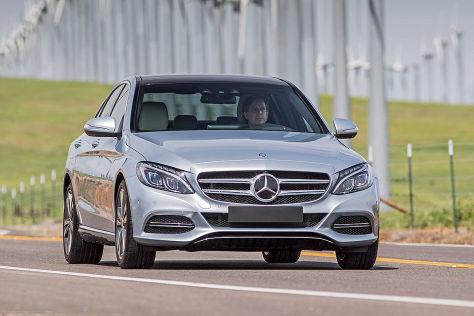 Mercedes C 350 e Plug-in (2015): Fahrbericht