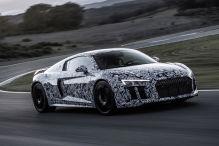 Audi R8 mit ma�geschneiderten Reifen
