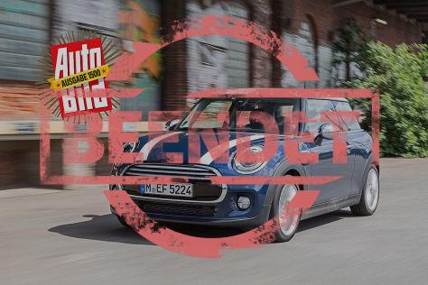 AUTO BILD Gewinnspiel Mini Cooper