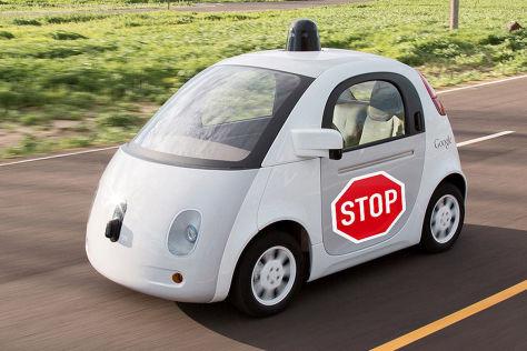 Google-Auto: Patent für Außen-Airbag