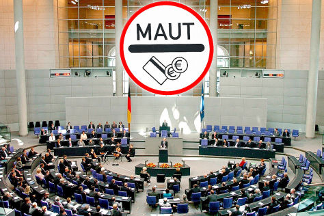 Maut im Bundestag