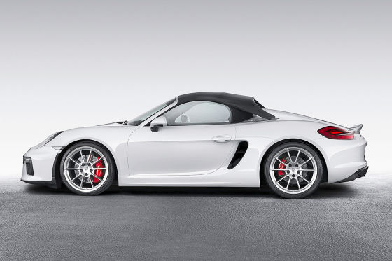 porsche boxster spyder ny 2015 vorstellung preis. Black Bedroom Furniture Sets. Home Design Ideas