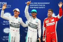 Vettel in Sepang in Startreihe eins