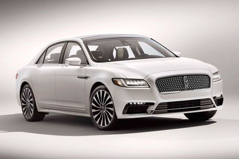 Lincoln Continental Concept (NY 2015): Vorstellung