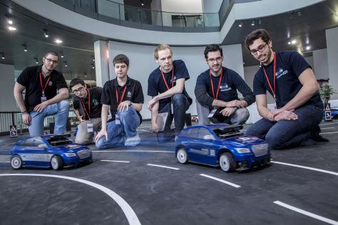 Audi Autonomous Driving Cup 2015