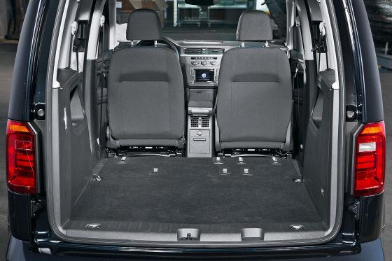 VW Caddy Laderaum
