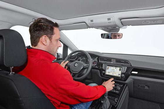 VW Touran Cockpit