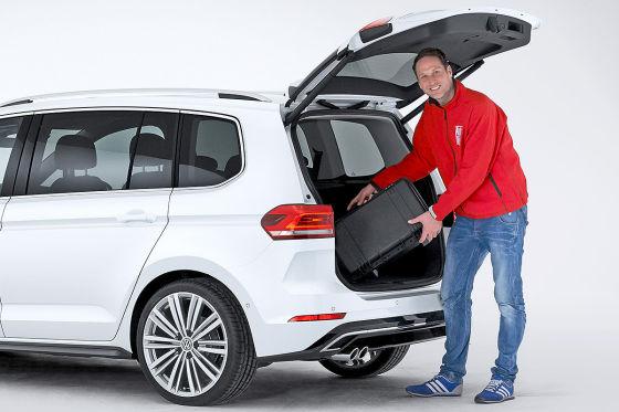 VW Touran Heck