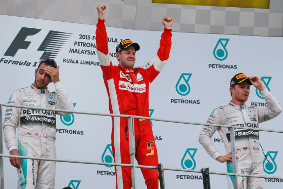 Hamilton, Vettel & Rosberg