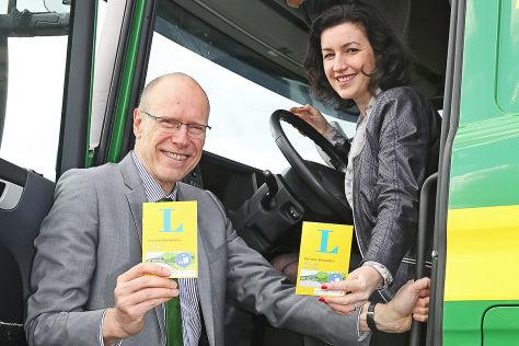 Verständnisbroschüre Lkw – Pkw Christian Keller und Dorothee Bär