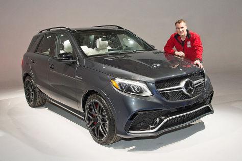 Mercedes-AMG GLE 63S (NY 2015): Sitzprobe