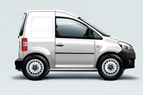VW Caddy Aprilscherz