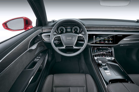Audi A8 D5 2017 Test Preis Cockpit Motoren Autobild De