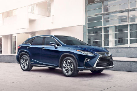 Lexus RX: NY International Auto Show 2015