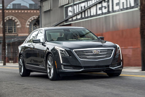 Cadillac CT6 (NYIAS 2015): Sitzprobe