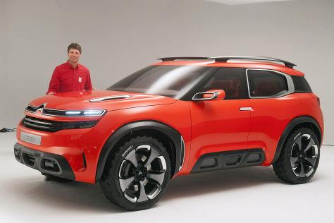 Citroën Aircross Concept: Shanghai Auto Show 2015