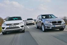VW und Jeep greifen BMW X5 an
