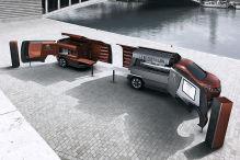 Peugeot mit Freiluftk�che