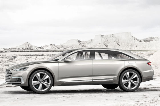 Audi Prologue Allroad Concept (Shanghai 2015)