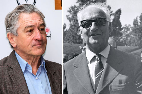 Robert de Niro und Enzo Ferrari