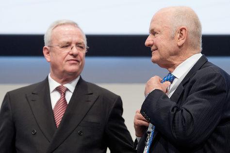 Martin Winterkorn und Ferdinand Piëch