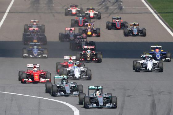 Start China GP