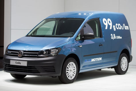 VW Caddy 4: Emissionsarmer TDI