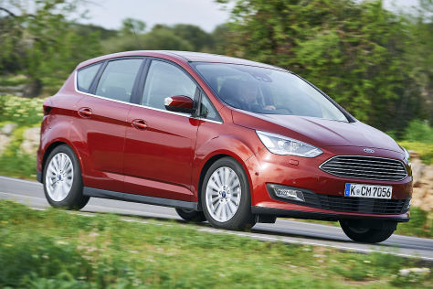 Ford C-Max Facelift (2015): Fahrbericht
