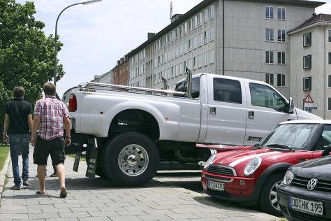 Berliner Idee: Parkgebühren nach Autolänge staffeln