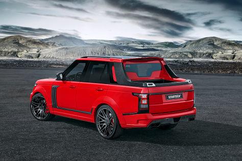 Range Rover Pick-up von Startech (Shanghai): Vorstellung