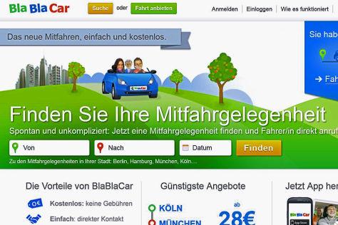 Mitfahrgelegenheiten-Anbieter in Deutschland