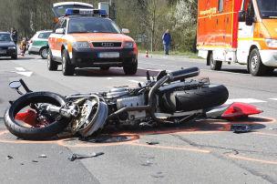 Mehr Motorradunfälle