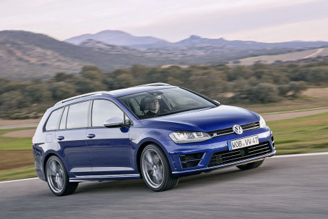 VW Golf R Variant (2015): Fahrbericht