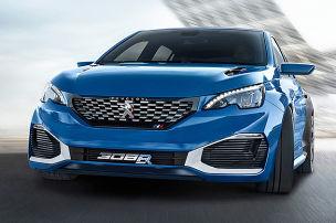 Peugeot 308 R Hybrid (Shanghai 2015): Vorstellung