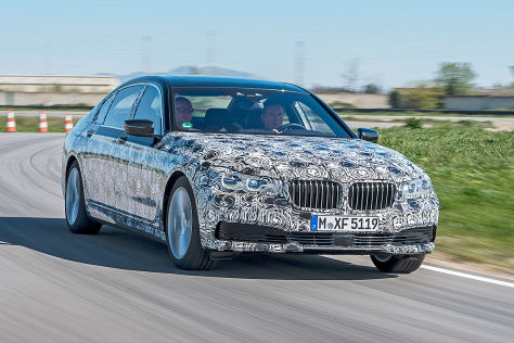 BMW 7er (IAA 2015): Fahrbericht im Prototypen
