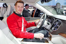 So sitzt es sich im Edel-Volvo