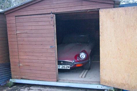 Auktion von Jaguar E-Type von 1973