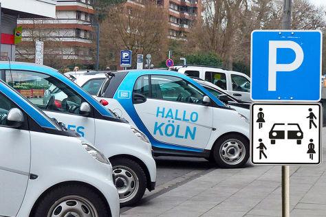 Carsharing: Neues Gesetz für Sonderrechte