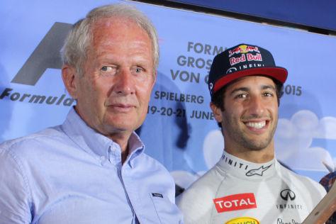 Helmut Marko & Daniel Ricciardo