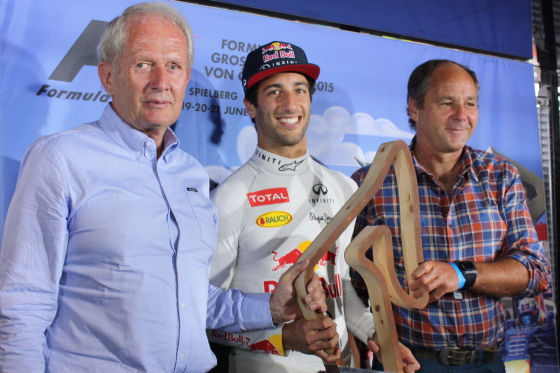 Marko, Ricciardo & Berger