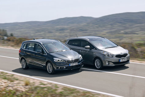 BMW 2er Gran Tourer Kia Carens